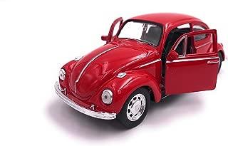 Welly Escarabajo Escarabajo Modelo Auto Auto Producto con Licencia 1: 34-1: 39 OVP Rojo