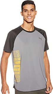 PUMA Men's Collective Loud Tee CASTLEROCK