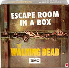 Escape Room in a Box:The Walking Dead Board Game, Party Game for 4 to 8 Players with Clues & Puzzles Inspired by AMC TV Se...