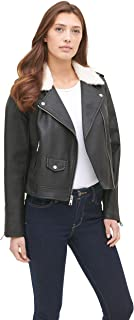 Belted Assymetrical Motorcycle Jacket