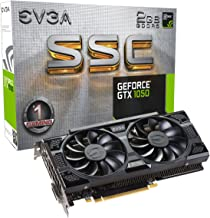 EVGA GeForce GTX 1050 SSC Gaming ACX 3.0, 2GB GDDR5, DX12 OSD Support (PXOC) Graphics Card 02G-P4-6154-KR