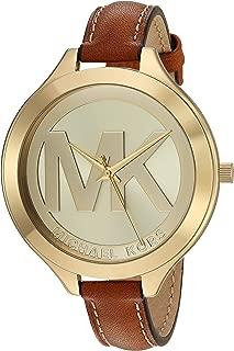 Women's Slim Runway Brown Watch MK2326