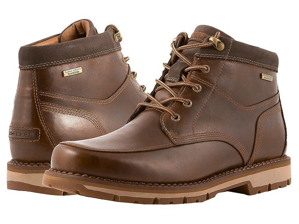 Rockport Centry Panel Toe Boot Waterproof (Brown) Men