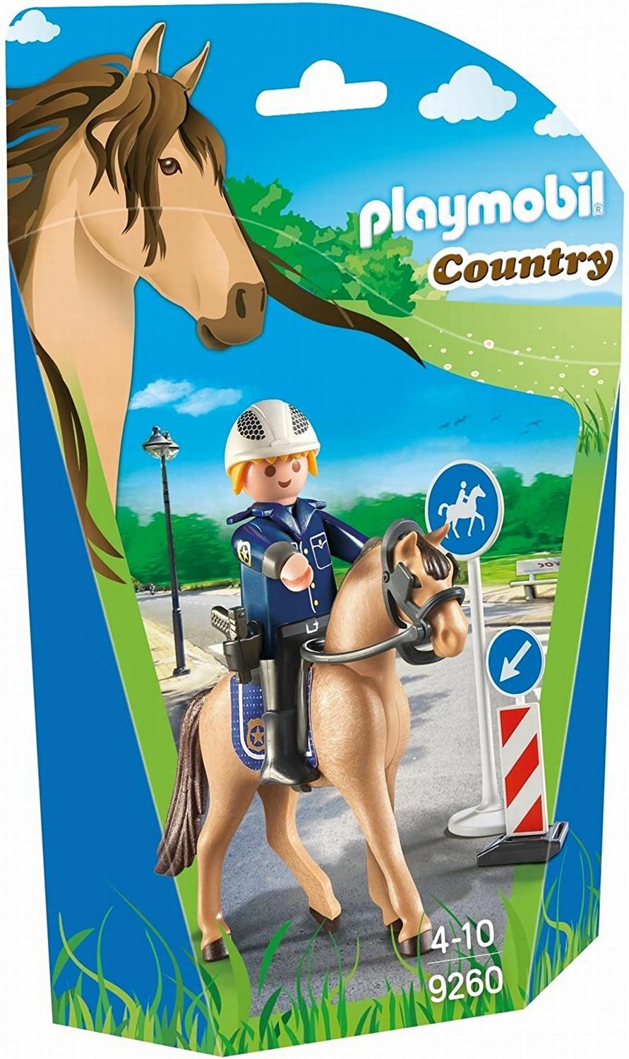 PLAYMOBIL Mounted Police Building Figure