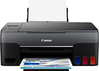 Canon G3260 All-in-One Printer | Wireless Supertank (Megatank) Printer | Copier | Scan, with Mobile Printing, Black, one S...