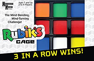 University Games Rubik's Cage Game, Head-to-Head Brain Teaser Strategy Game Based On The Rubik'S Cube for Ages 7 & Up, Multi