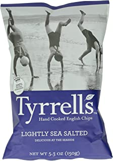 Tyrrell's Crisps, Lightly Sea Salted, 5.3 Ounce