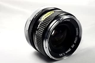 Canon 28mm f/3.5 FD-Mount Manual Focus Lens