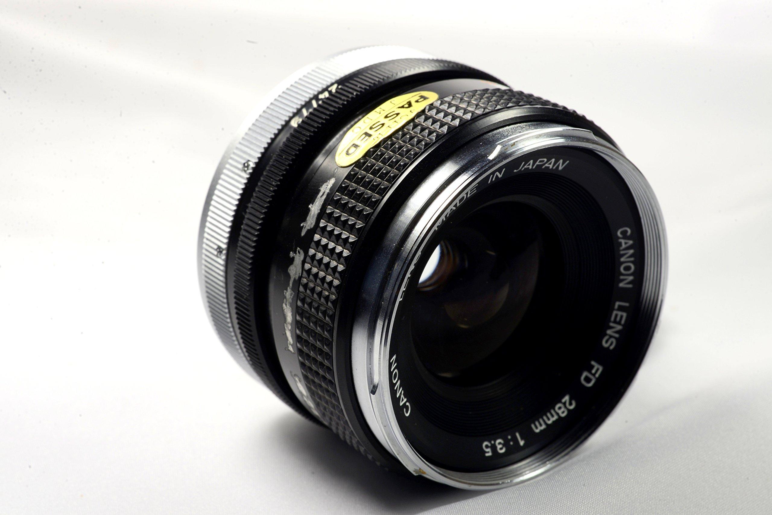 Canon 28mm FD Mount Manual Focus