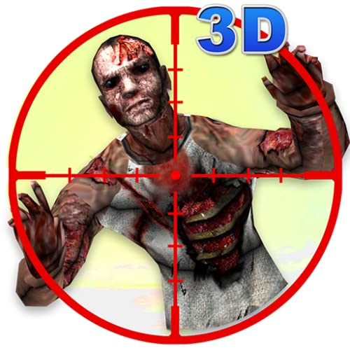 Extranjero 3D Zombie Sniper Guerra Contra