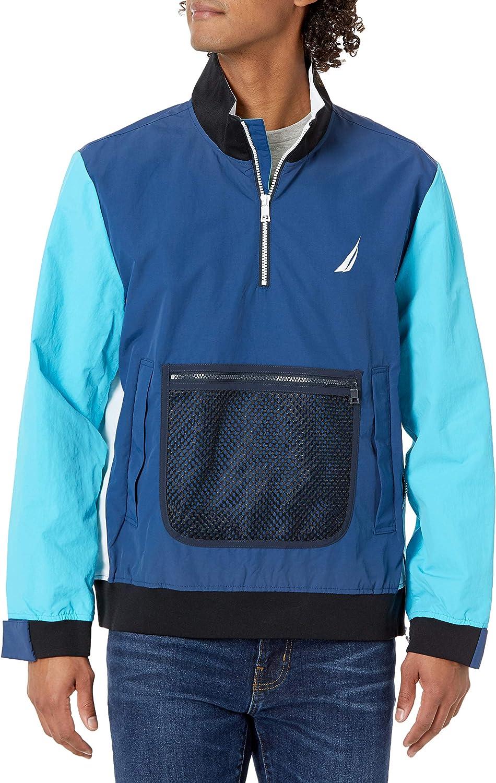 Nautica Men's Lightweight Colorblock Jacket