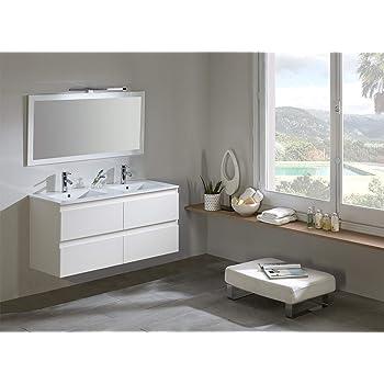 Modulintel Conjunto de baño, Melamina, Blanco, 120 cm: Amazon.es: Juguetes y juegos
