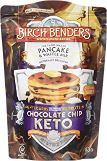 Birch Benders Griddle Cakes, Pancake Waffel Mix Chocolate Chip Keto, 10 Ounce
