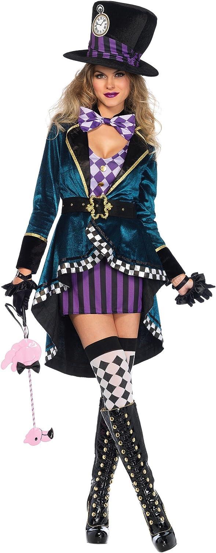 calidad oficial Leg Avenue Wohombres Delightful Hatter Fancy Fancy Fancy Dress Costume X-Large  respuestas rápidas
