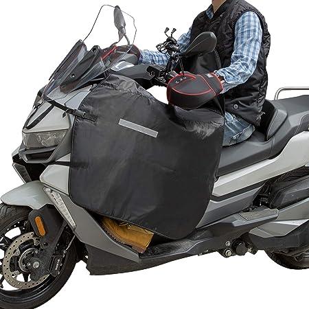 Beinschutz Beinabdeckung Roller Motorradabdeckung Motorradplane Universaler Wetterschutz Nässeschutz Mit Kälteschutz Reflexstreifen Für Rollerfahrer Wasserdicht Winddicht Auto
