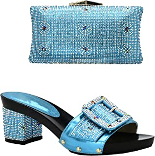 Surprise S Italian Shoes with Matching Bags for Women African Women Italian Shoes and Bag Set