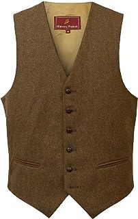 HIDEPARK Bray: Men's Tweed Waistcoat