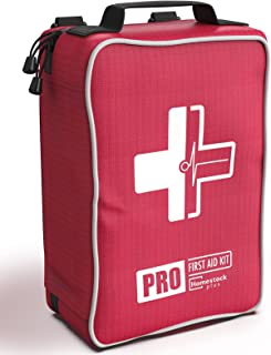 Sponsored Ad - Comprehensive First Aid Kit,Advanced Trauma Kit with Labelled Compartments, Molle System Emergency Kits for...