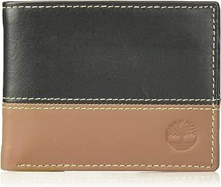 Men's Hunter Leather Passcase Wallet Trifold Wallet Hybrid