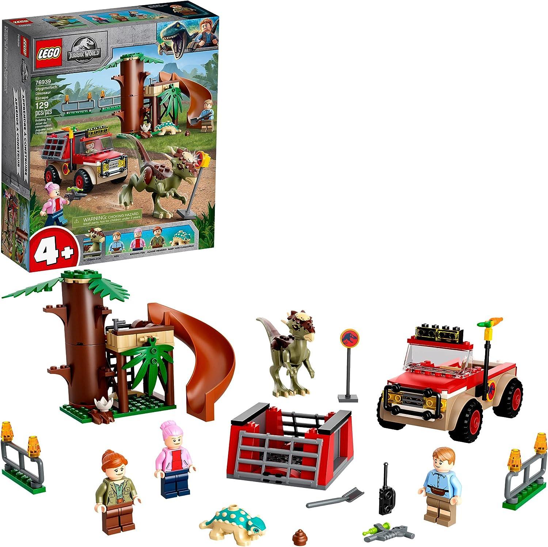 LEGO Jurassic World Stygimoloch Dinosaur K sale Escape 76939 New sales Building