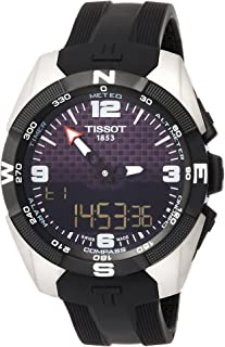 T-Touch Expert Solar NBA Speacial Edition Black Dial Mens Watch T0914204720701