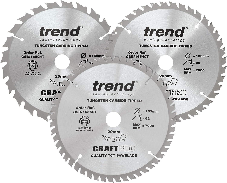 Manufacturer OFFicial shop Trend CSB 165 3PK B unisex Pro Di Circular Craft Sawblade-CSB