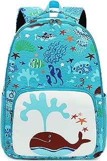 CAMTOP Kids Backpack Preschool Kindergarten Bookbag Toddler School Bag for Boys and Girls (Teal)