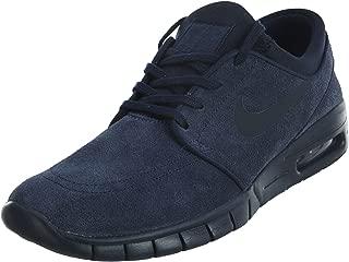 Men's Stefan Janoski Max L Obsidian/Dark Obsidian Skate Shoe (9)