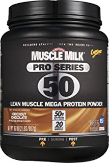 Muscle Mlk Pro Series 50 Knockout Chocolate, 2.4 Pound