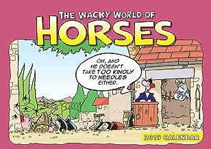 Wacky World of Horses A4 2019