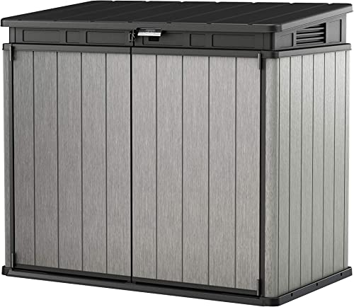 Keter Elite Store Abri Horizontal, Gris, 140x82x124 cm