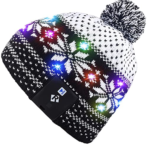 d7b4abd8822 Mydeal Stylish Unisex Men Women LED Light Up Beanie Hat Cap for Indoor