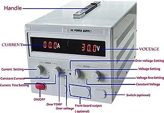 Precision 0-30V,0-30A Adjustable switch Power Supply Digital Regulated Lab Grade (input 110V)