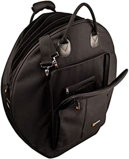"""Protec Deluxe 24"""" 6-Pack Cymbal Bag with Padded Dividers and Puncture Resistant Bottom"""