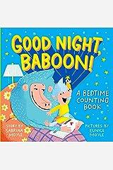 Good Night, Baboon!: A Bedtime Counting Book (Hello!lucky) Board book