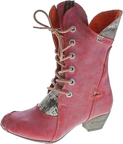 7011 Tma Echt Leder Comfort Schuhe Damen Stiefel O0wPnk