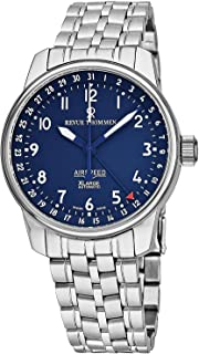 Air Speed XLarge Classic Mens Automatic Watch - Analog Blue Face Swiss Automatic Stainless Steel Watch for Men 16050.2135