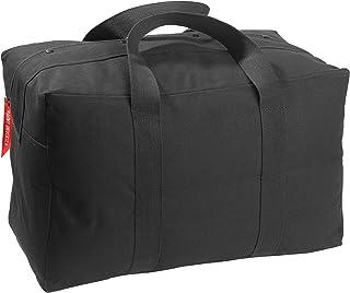 Military Canvas Parachute Cargo Carry Bag - Large (24 x 15 x 13) Black