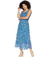 Nine West Multi Tier Maxi Dress