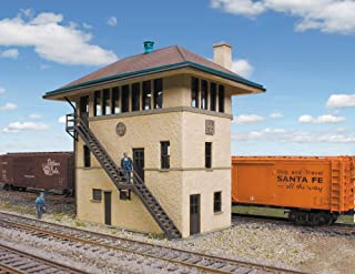 Walthers Cornerstone HO Scale ATSF Interlocking Tower Structure Kit