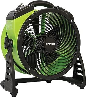 XPOWER FC-200 Heavy Duty Whole Room Air Circulator Fan, Carpet Dryer, Floor Fan, Blower - 13