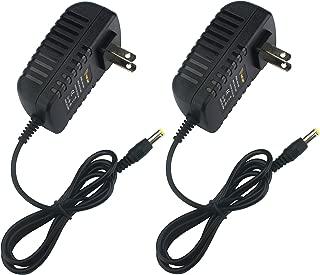 LED Lamp Belt Fittings, ALED LIGHT 2pcs 12 Volt 2 Amp LED Strip Light Power Adapter, AC to DC, 2.1mm X 5.5mm Plug, Regulated 12V 2A Power Supply Wall Plug for LED Strip Light