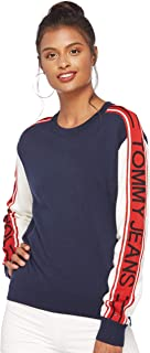 Tommy Hilfiger Women's Dw0Dw05152-Multicolored Pullover Tops