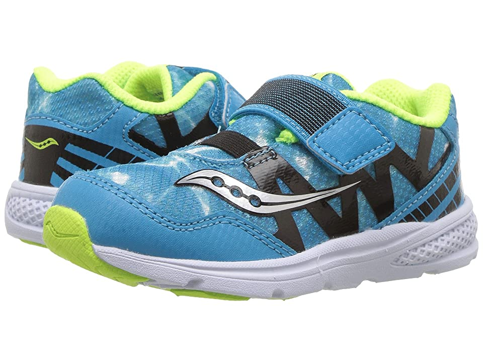 Saucony Kids Baby Ride Pro (Toddler/Little Kid) (Ocean Wave) Kids Shoes