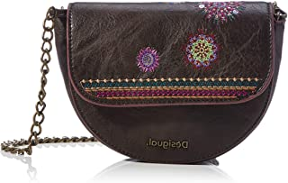 Desigual Accessories PU Belt Bag, Cinturón para Mujer, marrón, U