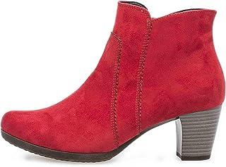 Gabor Basic laarzen in grote maten rood 35.680.45 grote damesschoenen
