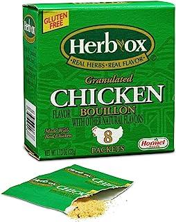 Herb-Ox Bouillon Packets Chicken Instant Broth & Seasoning 1.13 oz box