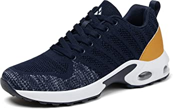 Mishansha Femme Air Baskets Chaussures de Sport Filles Outdoor Running Antidérapant Gym Sneakers Respirante Multicolore 3...