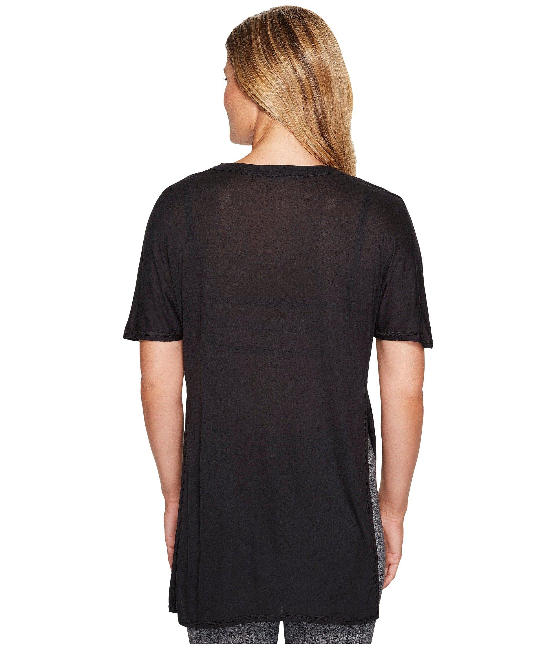 Sleeve Black Top Alo Short Dreamer a1wRqpE7