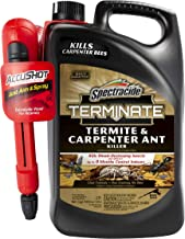 Spectracide HG-96375 Terminate Termite & Carpenter Ant Killer, AccuShot Sprayer, 1.33-gal, 1.33 gallon